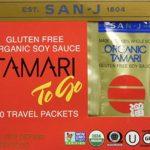 San-j Organic Tamari Gluten Free Soy Sauce Travel Packs 20×1/4fl.oz
