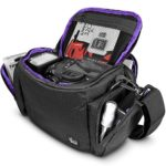 Camera Bag Case by Altura Photo for DSLR, Coolpix, Powershot, Mirrorless, Compact Cameras and Lenses (Padded Shoulder Travel Bag)
