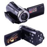 "KINGEAR KG005 Mini DV C8 16MP High Definition Digital Video Camcorder DVR 2.7"" TFT LCD 16x Zoom Hd Video Recorder Camera 1280 x 720p Digital Video Camcorder(Black)"