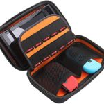 UZOPI Hard Travel Carrying Case Protective Storage Bag With 10 Game Holder for Nintendo Switch Console